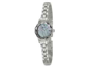 Bulova 96P129 Women's Stainless Steel Quartz Analog Watch