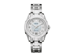 Bulova Precisionist Longwood Women's Quartz Watch 96P115