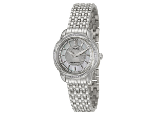 Bulova Precisionist Brightwater Women's Quartz Watch 96R153