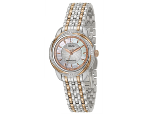 Bulova Precisionist Brightwater Women's Quartz Watch 98R153