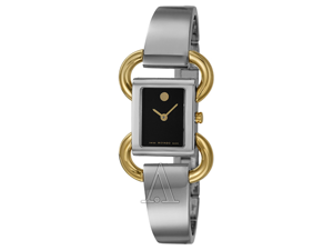 Movado Swiss Linio Two-  Tone Ladies Watch 0606472