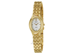 Seiko Solar Women's Quartz Watch SUP008
