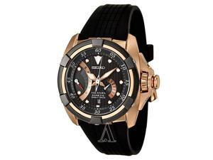 Seiko Velatura Mens Watch Rose Gold SRH006