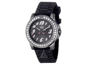 Juicy Couture Pedigree Black Jelly Strap Ladies Watch 1900794