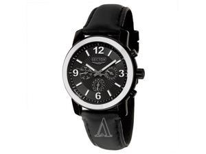 Sector Action 500 Men's Black Dial Quartz Watch R3271639025