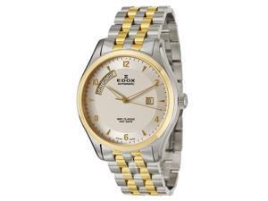 Edox WRC Classic Day Date Men's Automatic Watch 83013-357J-AID