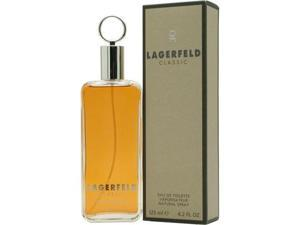 LAGERFELD by Karl Lagerfeld EDT SPRAY 4.2 OZ for MEN