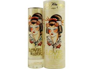 ED HARDY LOVE & LUCK by Christian Audigier EAU DE PARFUM SPRAY 3.4 OZ for WOMEN