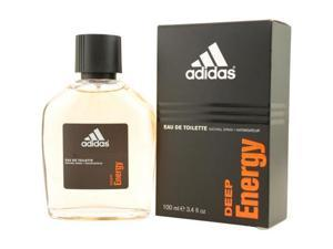 ADIDAS DEEP ENERGY by Adidas EDT SPRAY 3.4 OZ for MEN