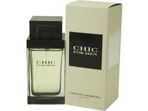 CHIC by Carolina Herrera EDT SPRAY 3.4 OZ for MEN