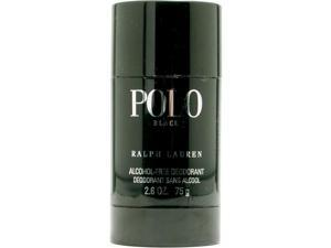 POLO BLACK by Ralph Lauren DEODORANT STICK ALCOHOL FREE 2.6 OZ for MEN