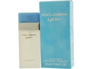 D & G LIGHT BLUE by Dolce & Gabbana EDT SPRAY .8 OZ for WOMEN