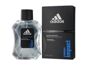 Adidas Fresh Impact by Adidas EDT Spray 3.4 Oz (Developed With Athletes) for Men