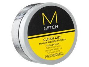Paul Mitchell Men By Paul Mitchell Mitch Clean Cut Medium Hold/Semi-Matte Styling Cream 3 Oz