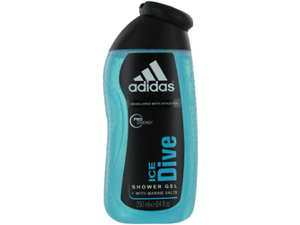 Adidas Ice Dive By Adidas Shower Gel 8.4 Oz (Developed With Athletes)