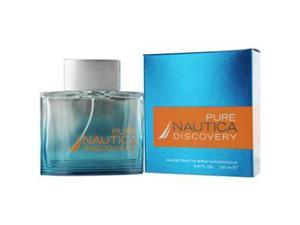 Nautica Pure Discovery by Nautica for Men - 3.4 oz EDT Spray