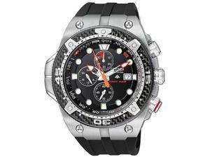 Citizen Men's Eco-Drive Promaster Multi-Function Black Rubber