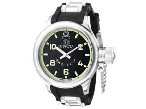 Invicta Men's 4342 Russian Diver Collection Black Stainless Steel Watch