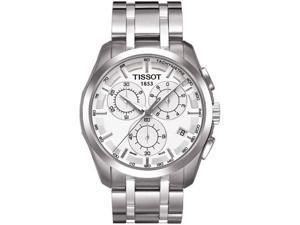 Tissot Couturier Mens Chrono Quartz S. Steel
