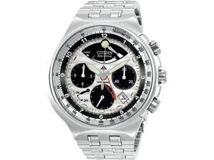 Citizen Eco Drive Mens Chrono Stainless Steel
