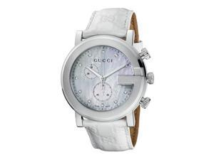 Gucci 101 G-Round Chronograph Watch YA101342