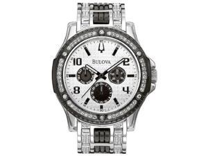 Bulova Crystal Mens Watch 98C005