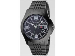 Gucci Black Stainless Steel Classic Mens Watch YA126202