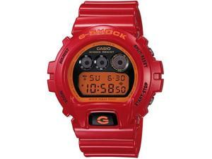 Casio Red G-Shock Digital Mens Watch DW6900CB-4