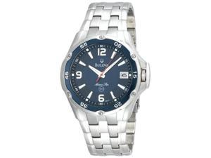 Bulova Marine Star Mens Quartz Stainless Steel