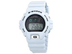 Mens Casio Solar Atomic White G-Shock Watch DW6900FS-8