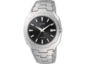 Citizen Mens Eco Drive Titanium Watch BM6560-54H