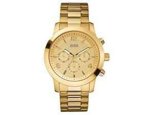 Guess Goldtone Chronograph Mens Watch U15061G2