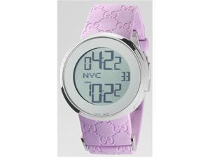 Gucci I-Gucci Digital Pink Ladies Watch YA114404