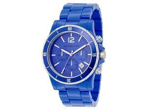 Michael Kors Blue Polyurethane Ladies Watch MK5271
