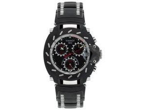 Tissot Men's T-Race Chronograph Black Ion Plated Stainless Steel