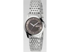 Gucci Stainless Steel Bracelet Gold Dial Women's Watch #YA126503
