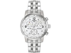 Tissot PRC200 Mens Chrono Quartz Stainless Steel