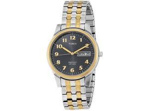 Timex Mens Classic Two-Tone Expansion Stainless Steel Watch T26481