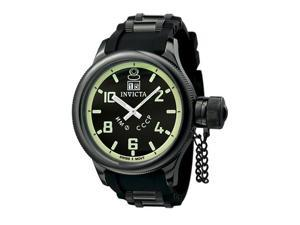 Invicta Men's Russian Diver QTZ Black Rubber