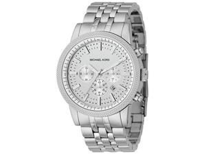 Michael Kors Mens Chronograph Stainless Steel Watch MK8072
