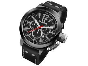 TW Steel CEO Canteen 45 MM Black Dial Chronograph Mens Watch CE1033