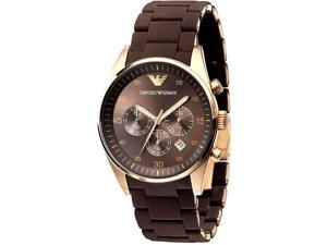 Emporio Armani Chronograph Rose-gold Mens Watch AR5890