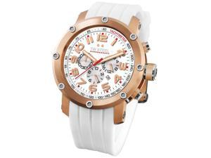 TW Steel Grandeur Tech 45mm White Dial Chronograph Mens Watch TW132