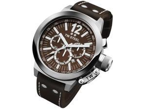 TW Steel CEO 45 MM Chronograph Brown Dial Mens Watch CE1011