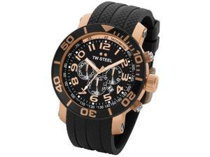 TW Steel Grandeur Diver Mens Chrono Quartz S. Steel