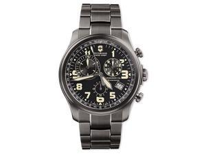 Swiss Army Infantry Vintage Chrono Gunmetal PVD Mens Watch 241289