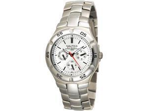 Nautica Metal Round Multifunction Mens Watch N10074