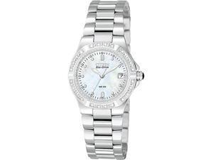 Citizen Riva Eco Drive Ladies Diamonds Stainless Steel