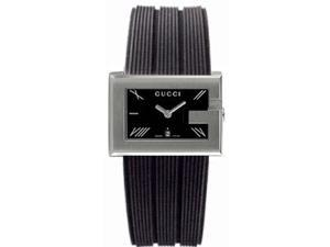 Gucci 100 G-Rectangle Series Ladies Watch YA100504