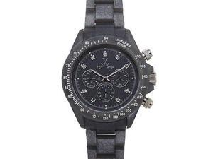 Toy Watch Plasteramic Pearilzed Gunmetal Watch FLP08GU